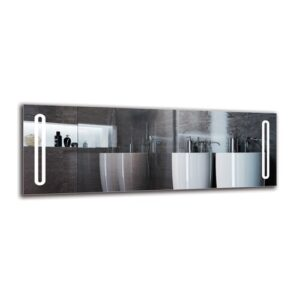 Daghmar Bathroom Mirror Metro Lane Size: 50cm H x 140cm W