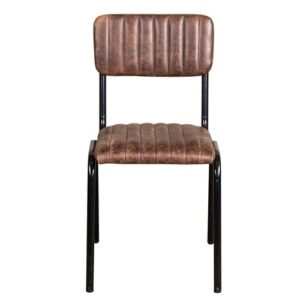 Deangelis Genuine Leather Upholstered Dining Chair Williston Forge