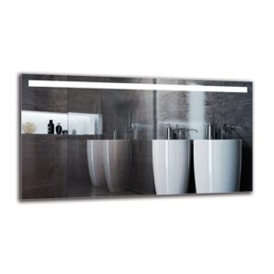 Dorethe Bathroom Mirror Metro Lane Size: 60cm H x 110cm W