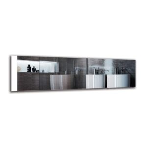 Dorthe Bathroom Mirror Metro Lane Size: 40cm H x 140cm W