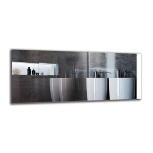 Dotir Bathroom Mirror Metro Lane Size: 50cm H x 120cm W