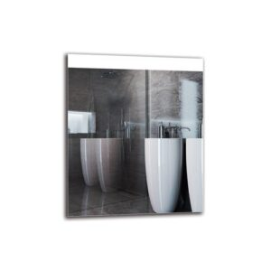 Edel Bathroom Mirror Metro Lane Size: 60cm H x 50cm W