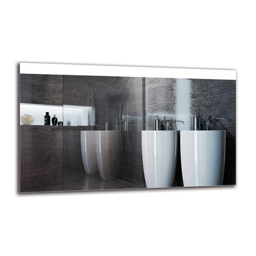 Edela Bathroom Mirror Metro Lane Size: 60cm H x 100cm W