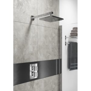 Efren Thermostatic Shower with Fixed Shower Head Belfry Bathroom