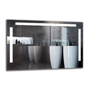 Ellesef Bathroom Mirror Metro Lane Size: 60cm H x 90cm W