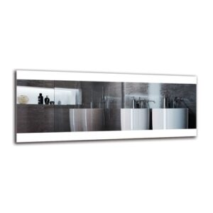 Elsebet Bathroom Mirror Metro Lane Size: 40cm H x 100cm W