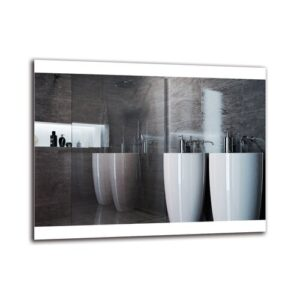 Elsebet Bathroom Mirror Metro Lane Size: 70cm H x 90cm W