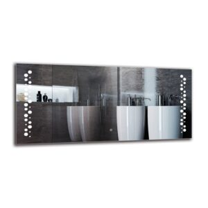 Elsebeth Bathroom Mirror Metro Lane Size: 60cm H x 130cm W