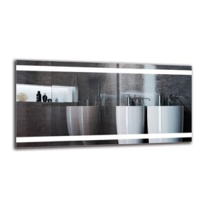 Esgerth Bathroom Mirror Metro Lane Size: 50cm H x 100cm W