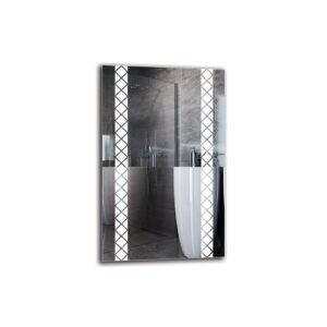 Estrith Bathroom Mirror Metro Lane Size: 80cm H x 50cm W