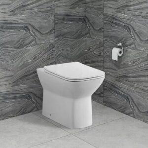 Ethelyn Back To Wall Toilet and Soft Close Seat Belfry Bathroom