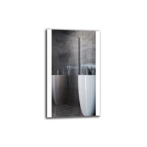 Ethla Bathroom Mirror Metro Lane Size: 100cm H x 60cm W