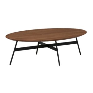 Felser Coppa Elliptic Coffee Table, Colarado Walnut