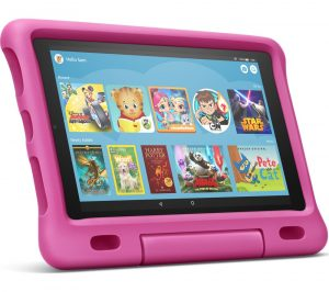 """Fire HD 10"""" Kids Edition Tablet (2019) - 32 GB, Pink, Pink"""