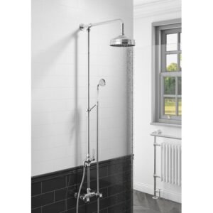 Fortin Thermostatic Shower with Dual Shower Head Belfry Bathroom