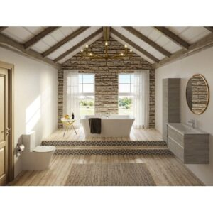 Freestanding 4 Piece 1795mm Bathroom Suite Ideal Standard