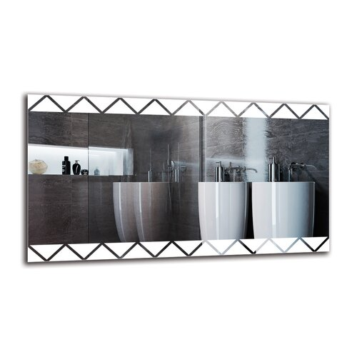 Gerd Bathroom Mirror Metro Lane Size: 50cm H x 90cm W