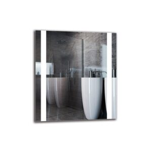 Gerlogh Bathroom Mirror Metro Lane Size: 90cm H x 80cm W