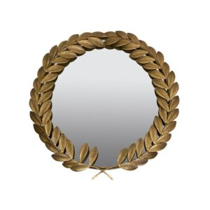 Golden Leaves Full Length Mirror ClassicLiving