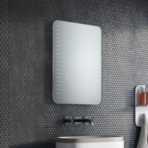 Grace LED Illuminated Bathroom Mirror Ivy Bronx Size: 65cm H x 120cm W x 3.2cm D