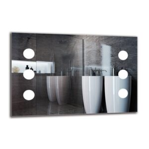 Gro Bathroom Mirror Metro Lane Size: 40cm H x 60cm W