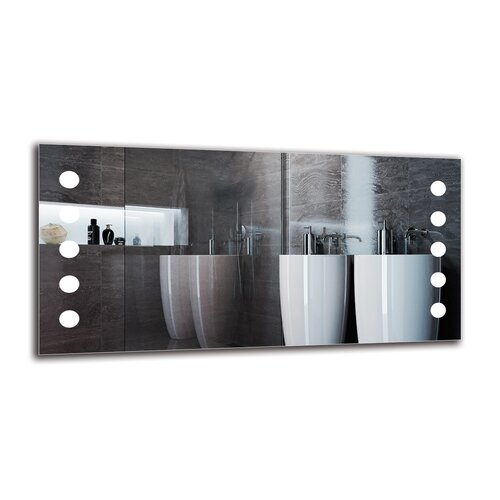 Gro Bathroom Mirror Metro Lane Size: 60cm H x 120cm W