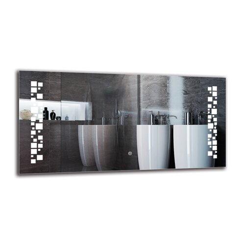 Gunlogh Bathroom Mirror Metro Lane Size: 50cm H x 100cm W
