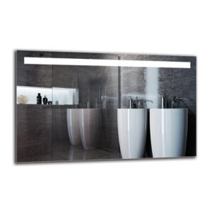 Gunnild Bathroom Mirror Metro Lane Size: 50cm H x 80cm W