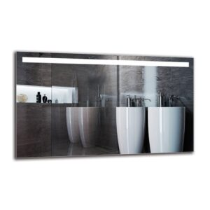 Gunnild Bathroom Mirror Metro Lane Size: 60cm H x 100cm W