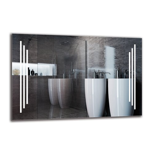 Gunnur Bathroom Mirror Metro Lane Size: 60cm H x 90cm W