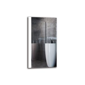 Guthrun Bathroom Mirror Metro Lane Size: 90cm H x 50cm W