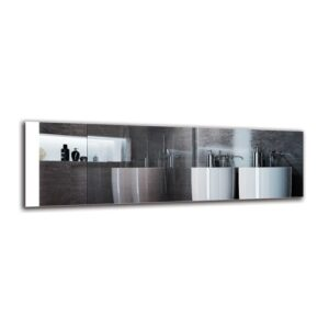 Gyda Bathroom Mirror Metro Lane Size: 40cm H x 130cm W