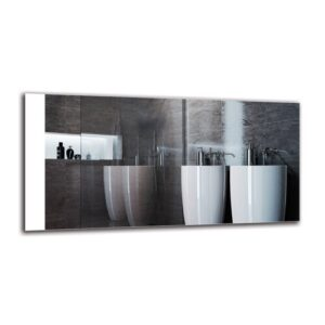Gyda Bathroom Mirror Metro Lane Size: 40cm H x 80cm W