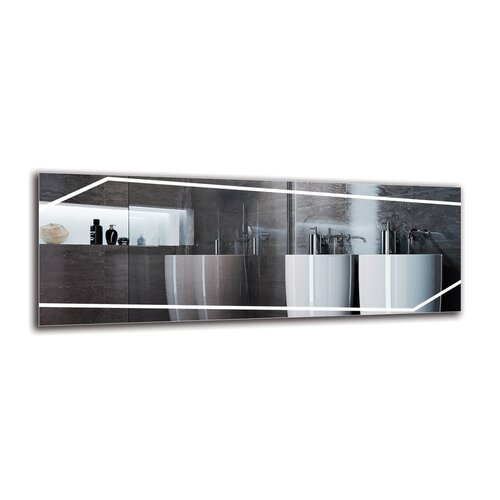 Gytha Bathroom Mirror Metro Lane Size: 40cm H x 110cm W