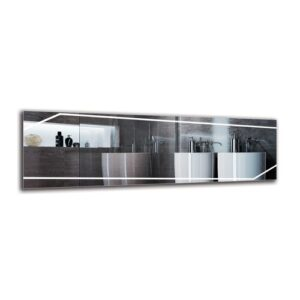 Gytha Bathroom Mirror Metro Lane Size: 40cm H x 130cm W