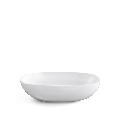 Hadley Ceramic Oval 600mm Countertop Basin Belfry Bathroom
