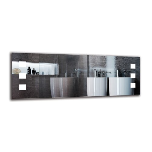 Hedvig Bathroom Mirror Metro Lane Size: 40cm H x 110cm W