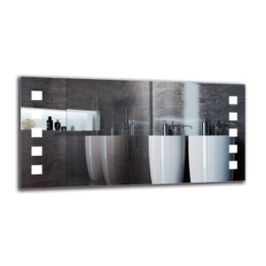 Hedvig Bathroom Mirror Metro Lane Size: 60cm H x 120cm W