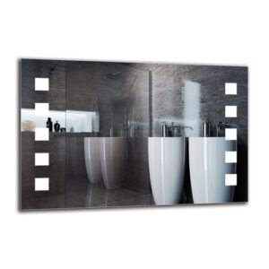Hedvig Bathroom Mirror Metro Lane Size: 60cm H x 90cm W