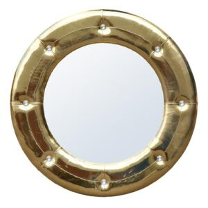 High Gloss Gold Mirror Mercer41 Finish: Gold