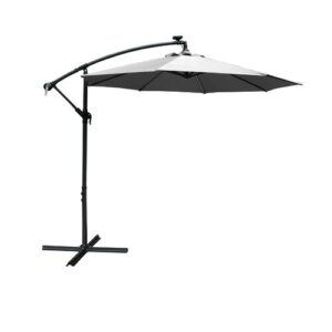 Horsley 2.7m Cantilever Parasol with Lights Sol 72 Outdoor