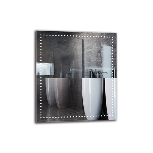 Ingigerth Bathroom Mirror Metro Lane Size: 80cm H x 70cm W