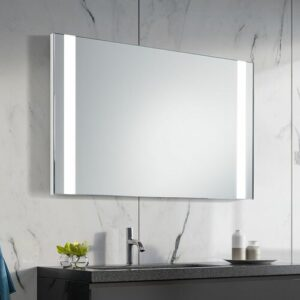 Jade LED Illuminated Bathroom Mirror Ivy Bronx Size: 65cm H x 120cm W x 3.2cm D