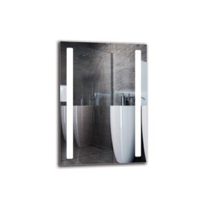 Katrine Bathroom Mirror Metro Lane Size: 100cm H x 70cm W