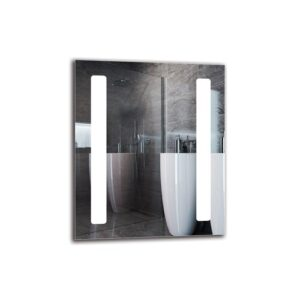 Katrine Bathroom Mirror Metro Lane Size: 60cm H x 50cm W