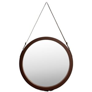 Leather Look Mirror Longshore Tides