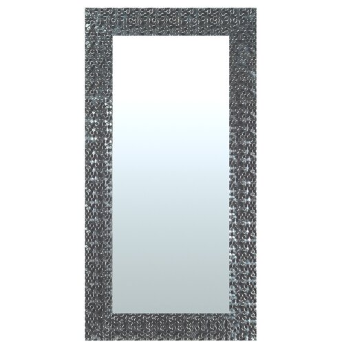 Lisa Full Length Mirror Mercer41 Size: 55cm H x 145cm W, Finish: Silver, Mirror: Without facets