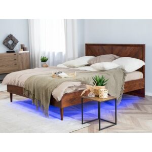 Maryann Bed Frame Corrigan Studio Size: European Kingsize (160 x 200 cm)
