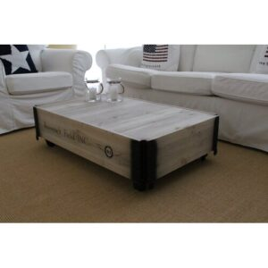 Mccants Coffee Table Williston Forge Size: 31cm H x 104cm W x 58cm D, Colour: Grey