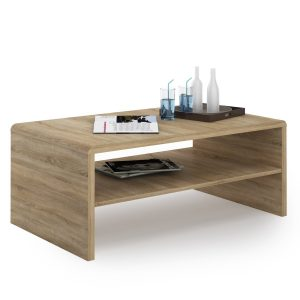 Moderne Oak Coffee Table